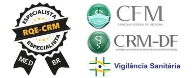 Oftalmopediatria brasilia - SELO MED-BR - RQE e CRM
